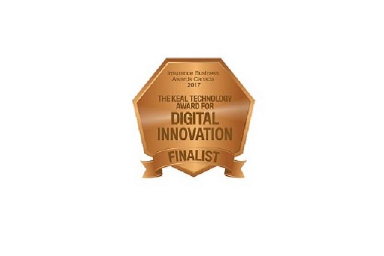 """""""Digital innovation finalist medal"""""""