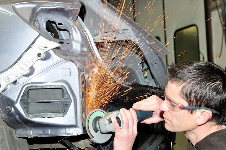 """man welding"""