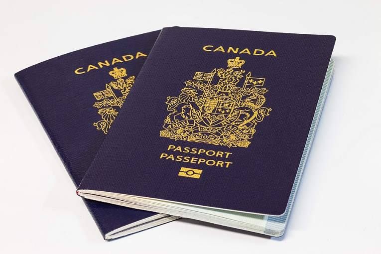 """2 canadian passports"""