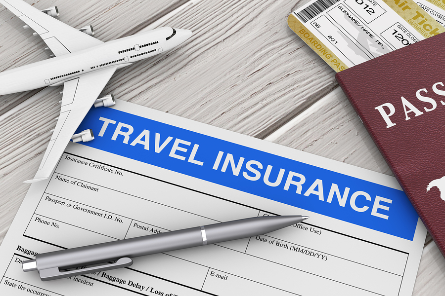 Travel insurance from near air