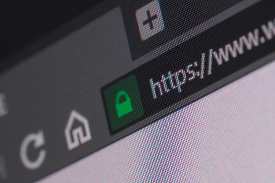 https URL in window