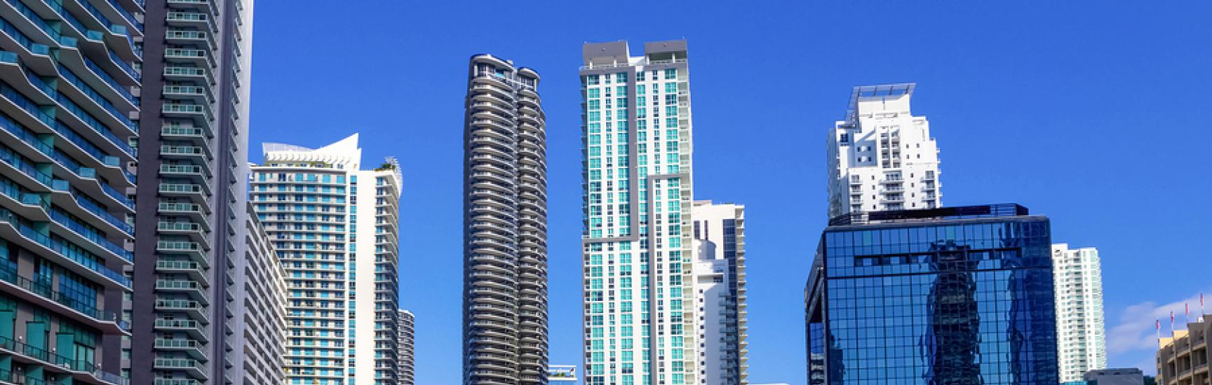 condo buildings downtown